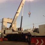 grúas para obras públicas