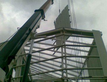 grúas hidráulicas para construcción