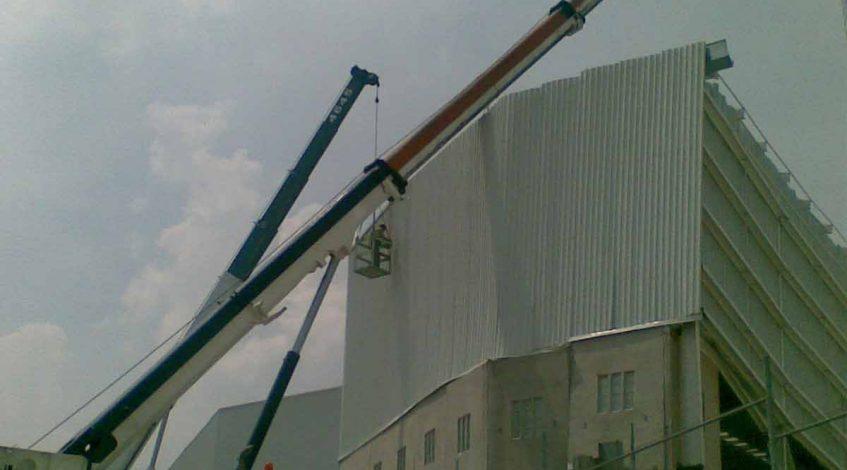 grúas para construcción